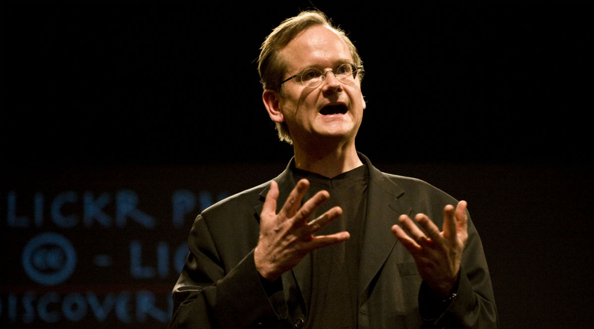 Lawrence Lessig in 2008