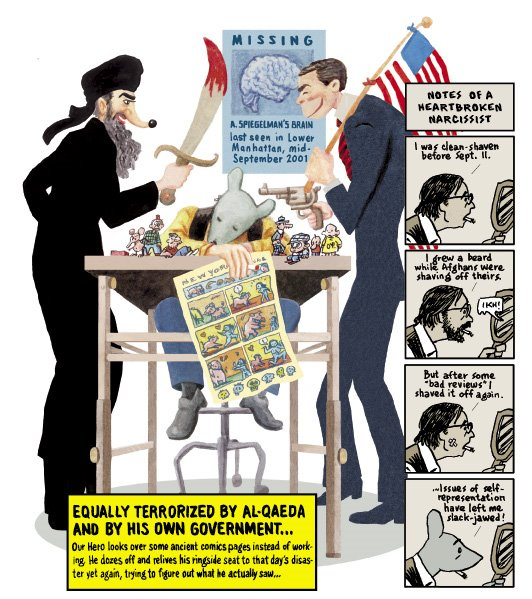 Spiegelman 911-enemies