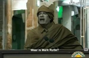 Kadaffi_woedend_op_Mark_Rutte