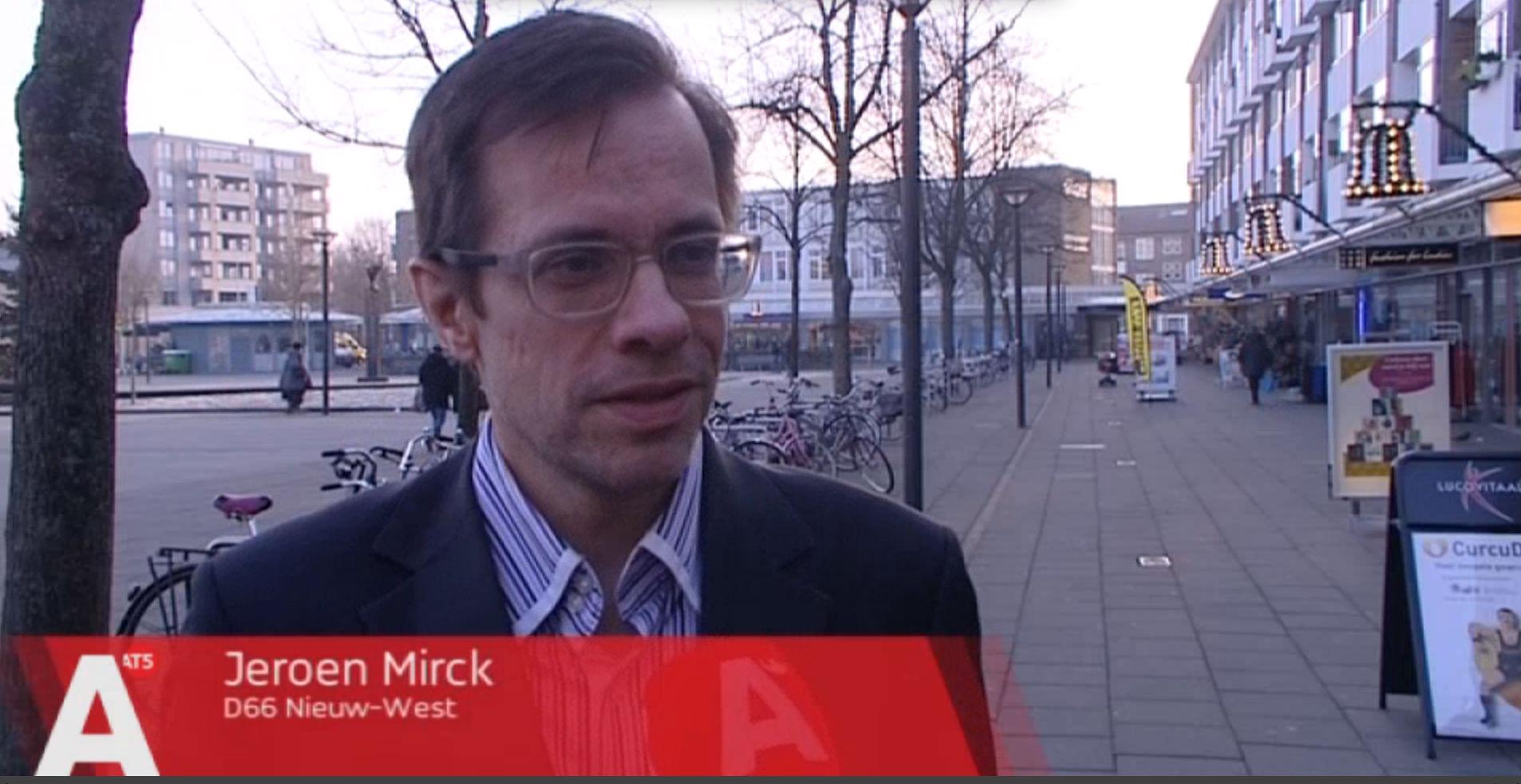 Jeroen Mirck (D66 Nieuw-West)