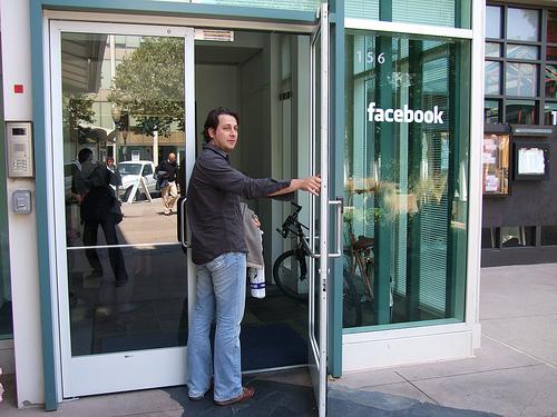 Facebook-entree