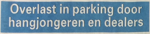 Telegraaf-parking