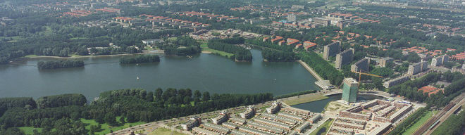 Sloterplas-luchtfoto