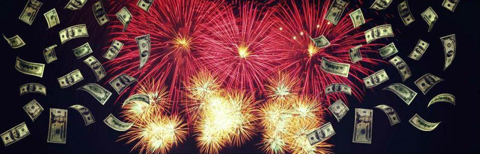 Money-Fireworks