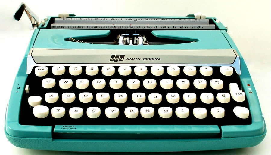 Typewriter Corona