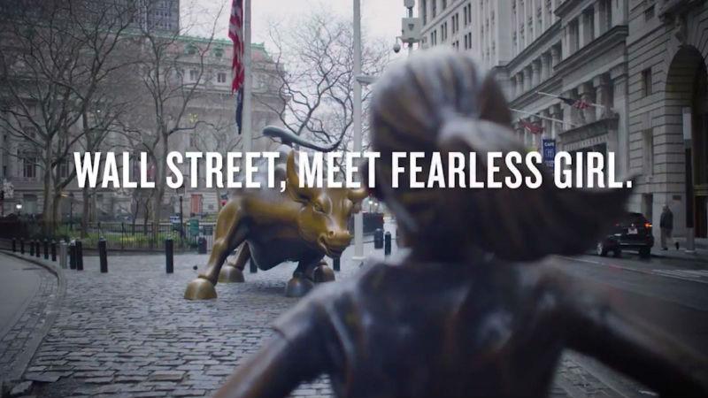 Fearless Girl on WallStreet