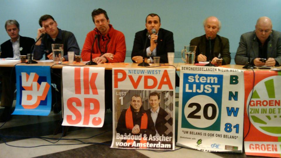 Politiek debat in 2010