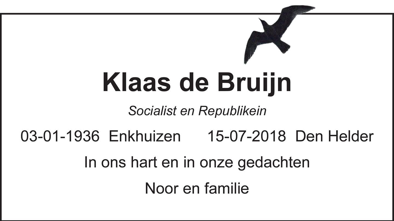 Klaas (1936-2018)