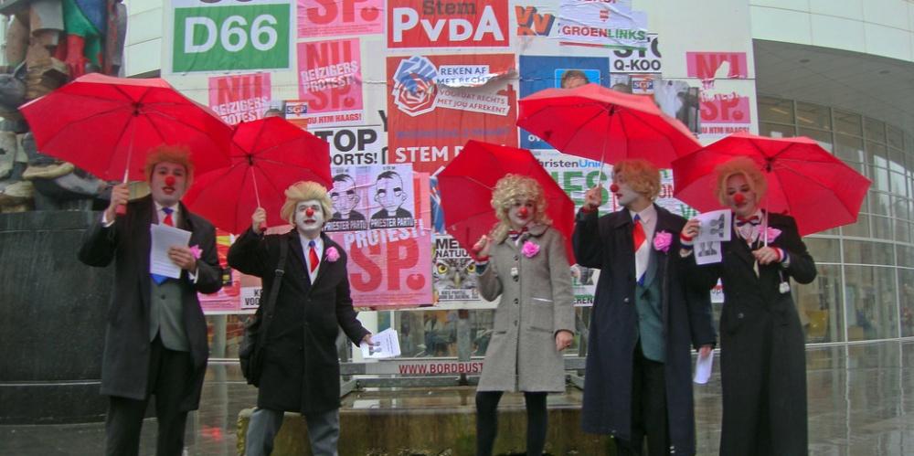 Politieke clowns