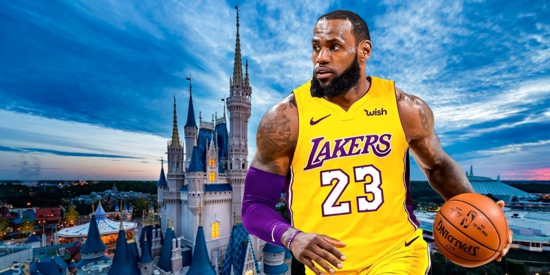 NBA naar Disney World